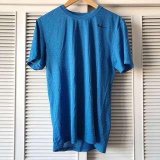 Nike Men's Blue Speckled Shirt