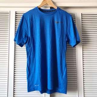 Nike Men's Blue Shirt