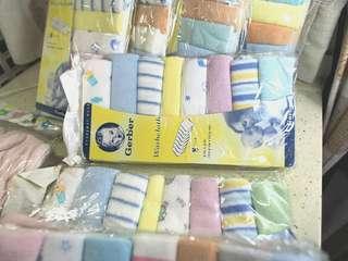 Gerber BB面巾 毛巾 Baby Washcloth