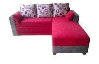 PROMO SOFA L BED KREDIT TANPA DP