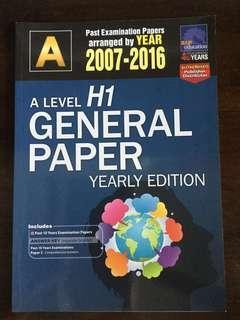 General Paper Ten Years Series