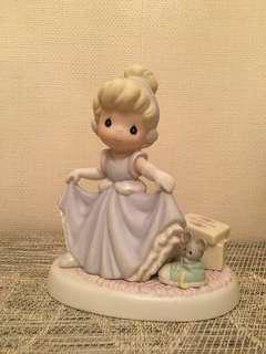Precious Moments 陶瓷公仔 disney Cinderella