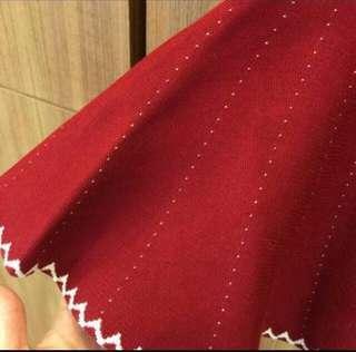 針織圓裙 秋冬 聖誕節派對