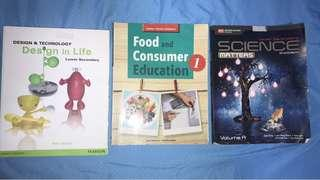 Lower Secondary TextBooks!