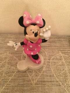 Disney minnie 陶瓷公仔樣版