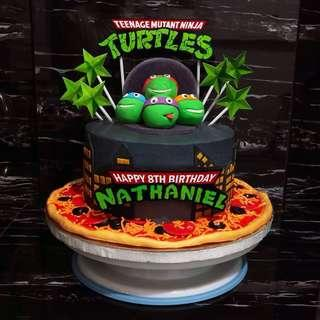 Ninja Turtla Cake