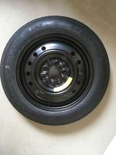 "Spare tyre and 16""rim for Honda"