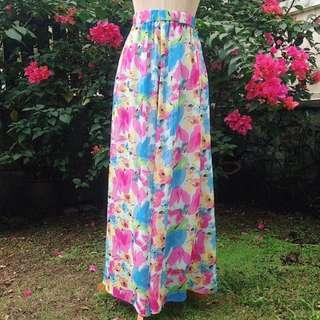 ‼️REDUCED‼️Floral Maxi Skirt