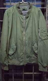 Uniqlo Green Bomber Jacket