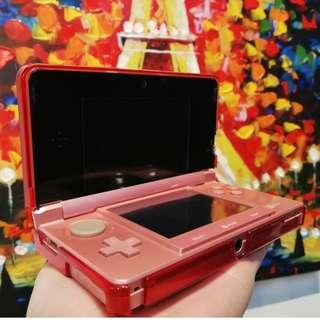 Nintendo 3DS  pink - USED