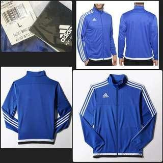 New L & XL Adidas 3 Stripe Jacket Orinial Style