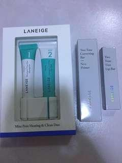 BN Laneige Skincare and makeup set