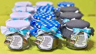 200 ml candies in a Jar Give - Aways