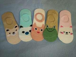 Animal design footsocks