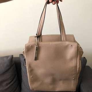 Kenneth Cole Tan Leather Bag