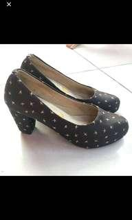 Adorable projects black heels shoes