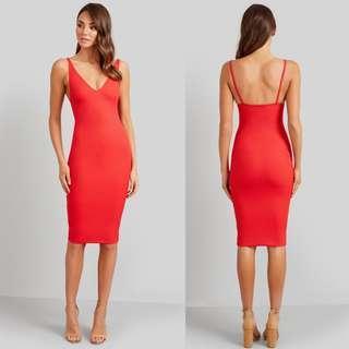 New!Kookai Gemini Biancas Red Dress RRP$110, FREE POSTAGE!