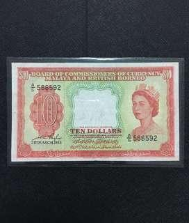 1953 Queen $10