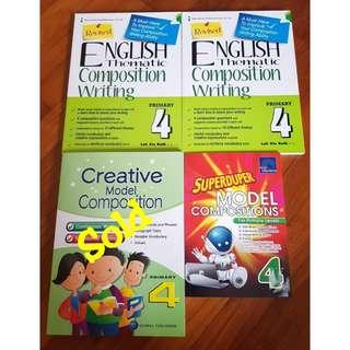 Primary 4 Composition book