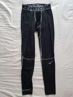 Retail $65 Worn Once 100% Authentic Nike Pro Combat full length tights - Medium