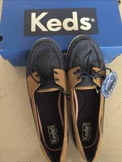 BN keds glimmer wool in navy
