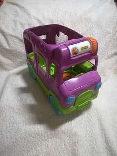 Authentic 2014 LeapFrog Learning Adventure Bus