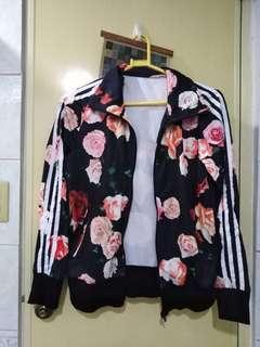 Adidas-inspired jacket
