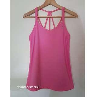 Lorna Jane Pink Tank Top, Size Small, RRP$45