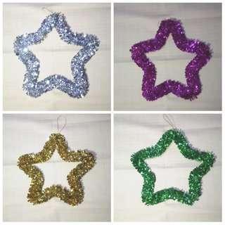 Hiasan dinding motif bintang