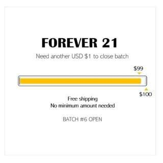 SPREE | FOREVER 21 *FREE SHIPPING*