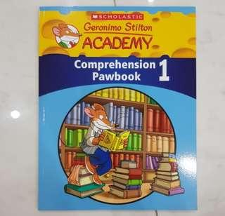 Scholastic Geronimo Stilton Comprehension Pawbook 1