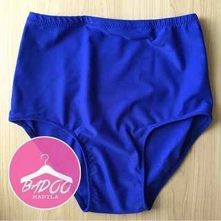 Royal Blue High Waist Bottom Swimsuit