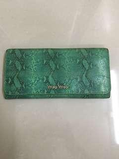Miumiu long Wallet
