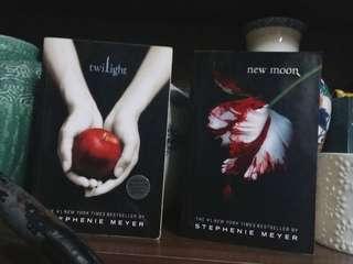 Twilight Saga books #1 and #2