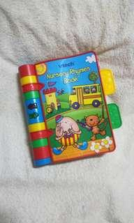 Authentic VTech Baby Nursery Rhymes Book