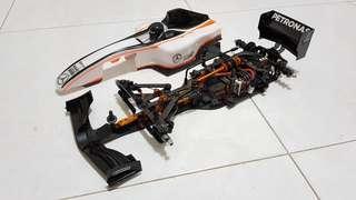Hudy Xray X1 Formula 1 (i.e 2018 model)