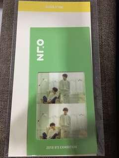 BTS Exhibition Bookmark - Suga & V