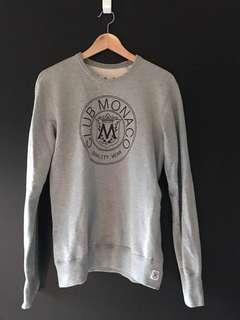Club Monaco x Reigning Champ Crest Sweatshirt sz M