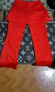 Celana rok senam #maudandan