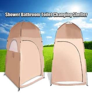 PORTABLE CHANGING ROOM, BATHROOM OR SHELTER FOR OUTDOOR ACTIVITY 120.00 x 120.00 x 210.00 cm