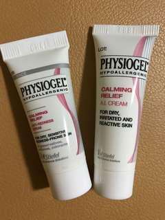 Physiogel 抗敏紓緩乳霜 calming relief a.i. cream serum