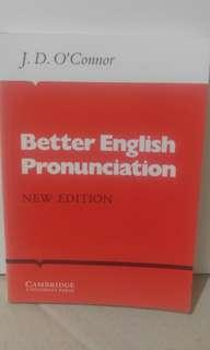 Better English Pronunciation (by offer)