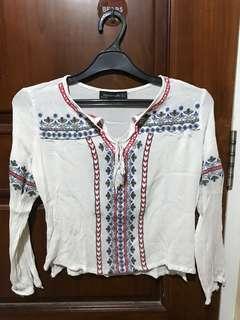 Bohemian clothes top