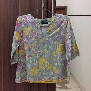 cottonink batik top