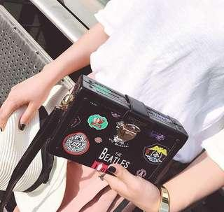 THE BEATLES SQUARE BAG