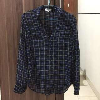 express tartan shirt