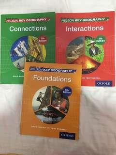 Geography textbooks (IGCSE curriculum)
