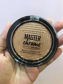 Maybelline Master Chrome for sale