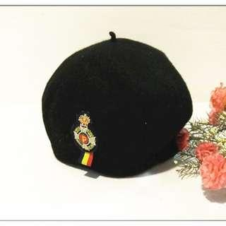秋 冬 兒童 女孩 男孩 小孩 蘇蘭格帽 畫家帽 帽子 100%毛 日本製 隨便賣