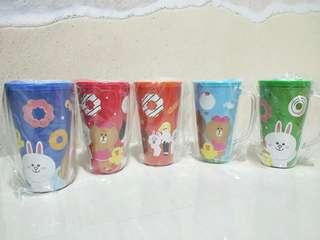 Line cups (good for christmas gift exchange!)